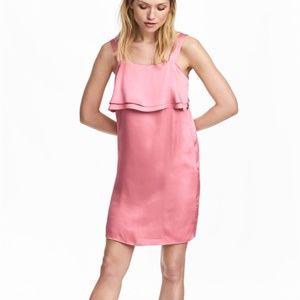 H&M satin dress size 10
